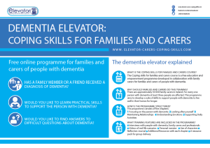 Family Carers Poster